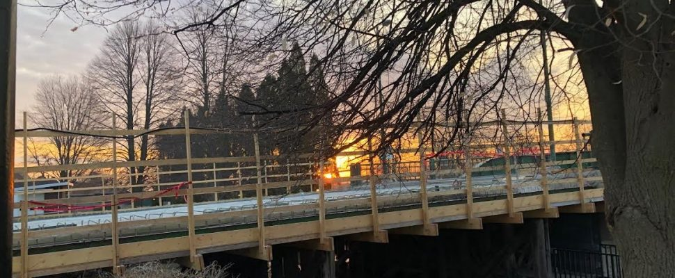 The Lord Selkirk Bridge in Wallaceburg re-opens November 13, 2019. Nov 7, 2019. (Photo courtesy of CK councillor Aaron Hall)