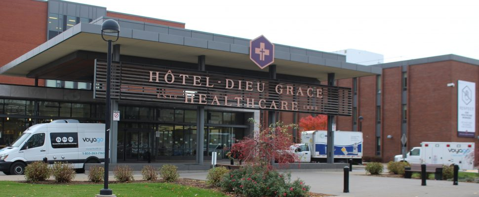 Hotel Dieu-Grace Healthcare, November 6, 2019. (Photo by Maureen Revait)