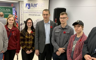 Wallaceburg company collaborates with St. Clair College - BlackburnNews.com