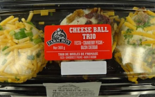 Farm Boy Cheese Ball Trio is among six cheese balls being recalled due to possible Listeria contamination. Photo courtesy of the Canadian Food Inspection Agency.