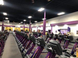 Inside Planet Fitness in Chatham. (Photo by Allanah Wills, Blackburn News)