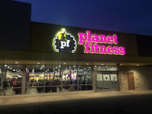 Planet Fitness in Chatham. (Photo by Allanah Wills, Blackburn News)