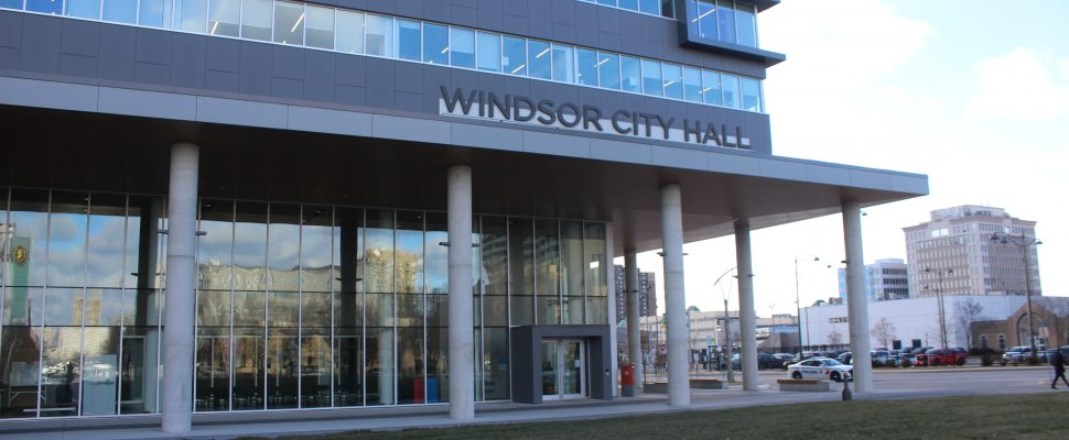 Windsor City Hall, December 2019. (Photo by Maureen Revait)