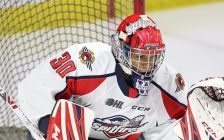 Xavier Medina of the Windsor Spitfires. (Photo courtesy of Luke Durda via OHL Images)