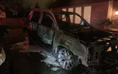 BlackburnNews.com - Vehicle fire in Leamington causes $105,000 in damages