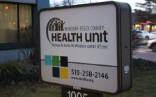 Windsor-Essex County Health Unit, Windsor, January 16, 2020. Photo by Mark Brown, Blackburn News.