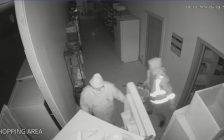Surveillance video posted by Windsor Family Homes and Community Partnerships.