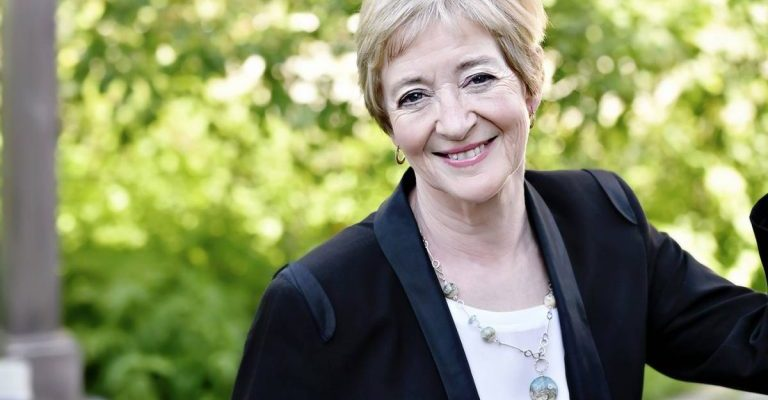 Photo of Maude Barlow by Michelle Valberg.