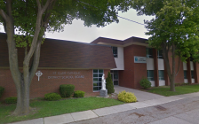St. Clair Catholic District School Board Catholic Education Centre on Creek Street in Chatham-Kent. May 2014. (Photo by Google Maps)