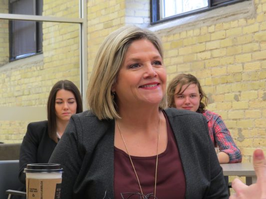 Ontario NDP Leader Andrea Horwath. (File photo by Miranda Chant, Blackburn News)
