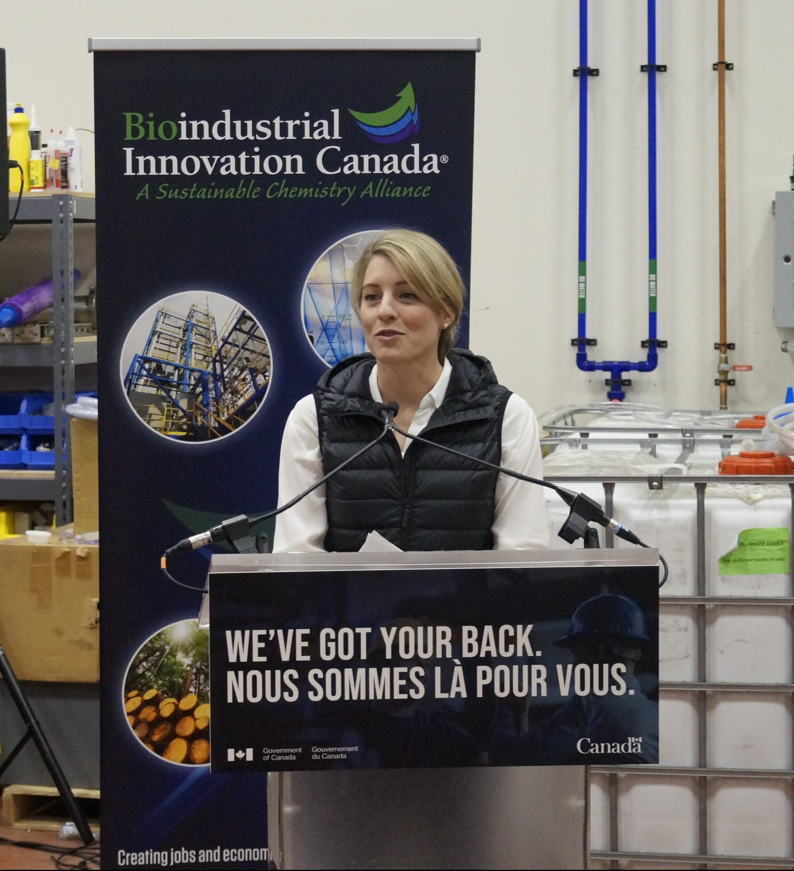 Bioindustrial Innovation Canada Gets