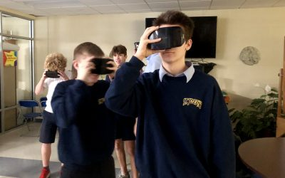 High school students see benefits of virtual reality