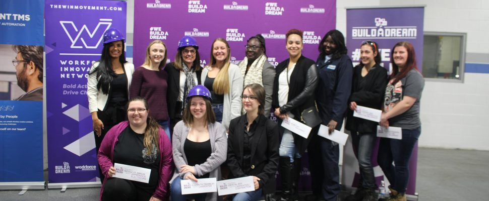 Ministry of Employment , Workforce Development and Disability Inclusion announces funding for Build a Dream, February 13, 2020. (Photo by Maureen Revait)