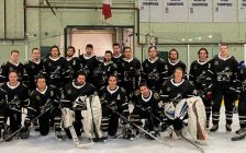 The 2019/20 Petrolia Squires (Photo courtesy of Petrolia Squires Facebook Page)