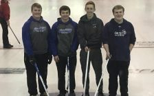 UCC Lancers boys' curling team. (Submitted photo)