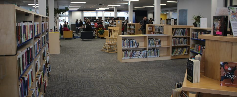 Windsor Public Library Budimir Branch, February 14, 2020. (Photo by Maureen Revait)