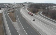 Approach to Blue Water Bridge at Front Street (Image from traffic camera)