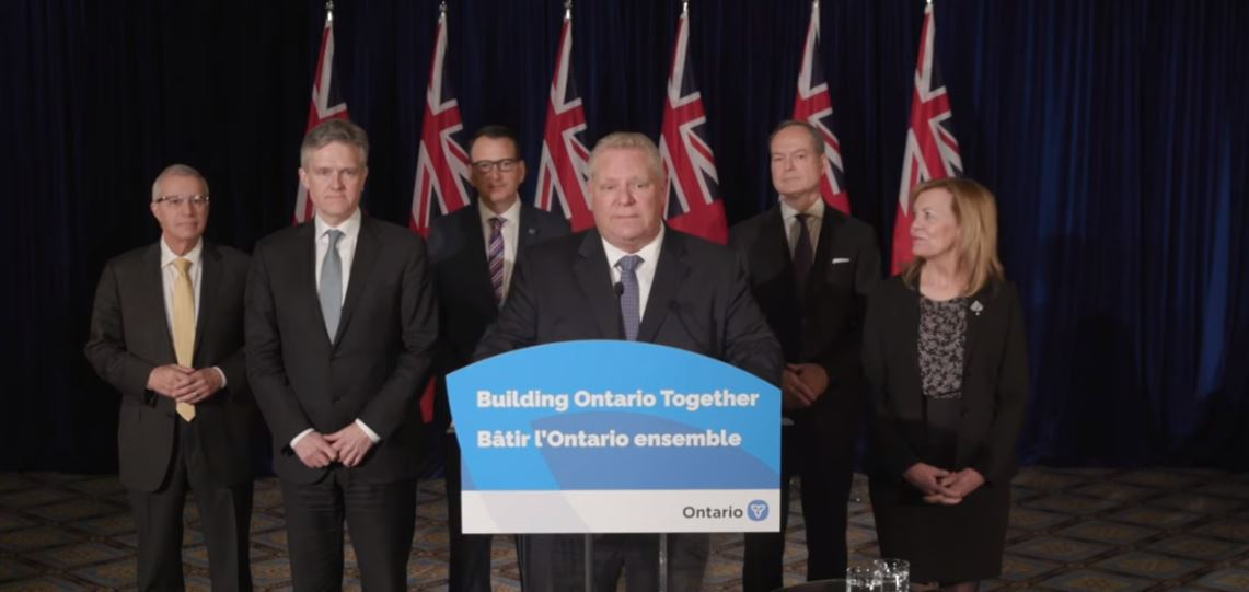 Blackburnnews Com Premier Doug Ford Declares State Of Emergency In Ontario