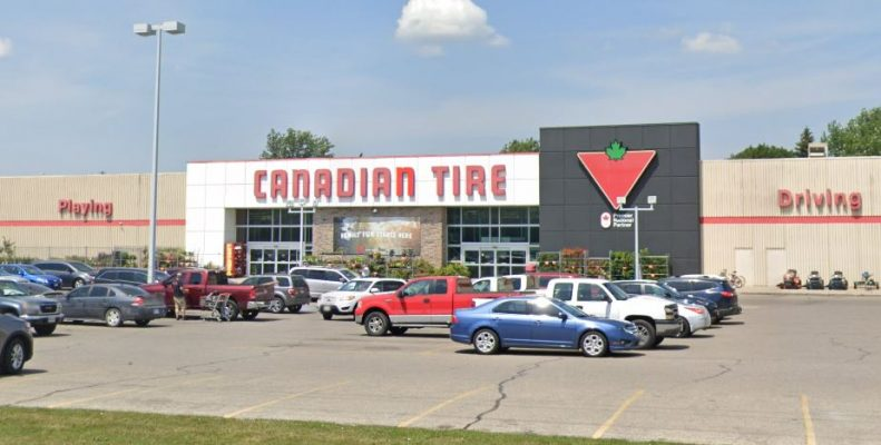 Canadian Tire Retail location on Grand Avenue West in Chatham. (Photo courtesy of Google Maps)