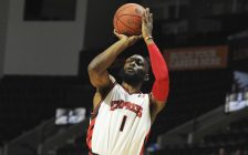 Quinnel Brown of the Windsor Express. (Photo courtesy of the Windsor Express via Twitter)