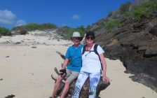 Randy & Irene Reiss of Sarnia in Galapagos Islands March 2020 (submitted photo)