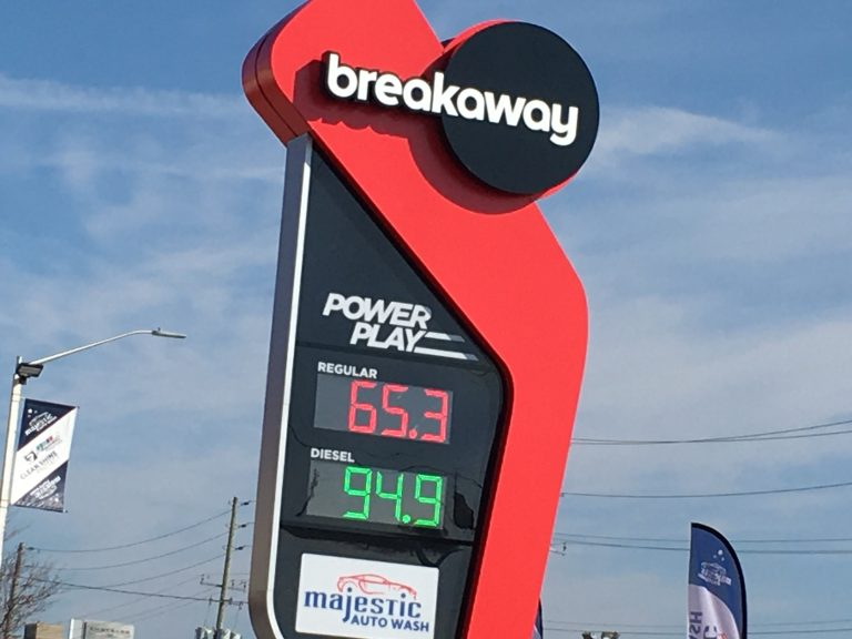 Gas prices dip below $1 per litre in Metro Vancouver and