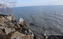 Lake Erie on March 3, 2020 (Photo by Allanah Wills)