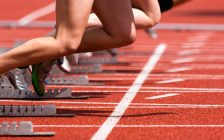 Sprint start in track and field. File photo courtesy of © Can Stock Photo / stefanschurr