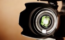 Professional high definition camcorder in close up, selective focus. © Can Stock Photo / Kuzmaphoto
