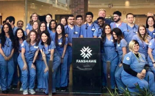 Fanshawe College's respiratory therapy graduating class of 2020. Photo courtesy of Fanshawe College.