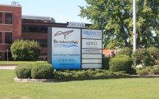 The Arlanxeo bio-industrial park on Vidal Street in Sarnia. (Photo by Sarnia-Lambton Economic Partnership)