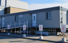 The Woodstock COVID-19 assessment Centre. Photo courtesy of Woodstock Hospital.