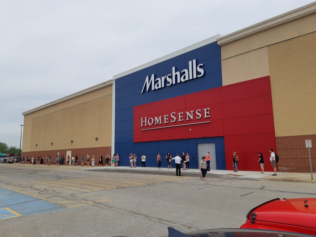 Marshalls HomeSense Opening at Lambton Mall in Sarnia. May 27, 2020 Submitted photo.