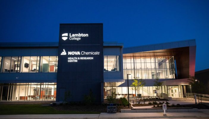 Lambton College NOVA Chemicals Health and Research Centre in Sarnia. (Photo by Lambton College)