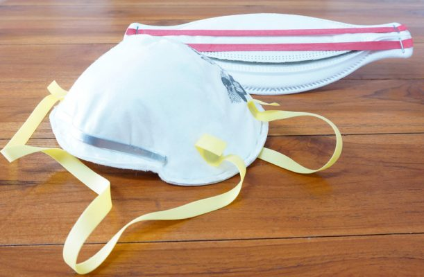 File photo of an N95 mask courtesy of © CanStockPhoto.com/ninun