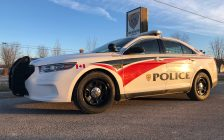 An Anishinabek Police Service cruiser in Kettle and Stony Point. (submitted photo)