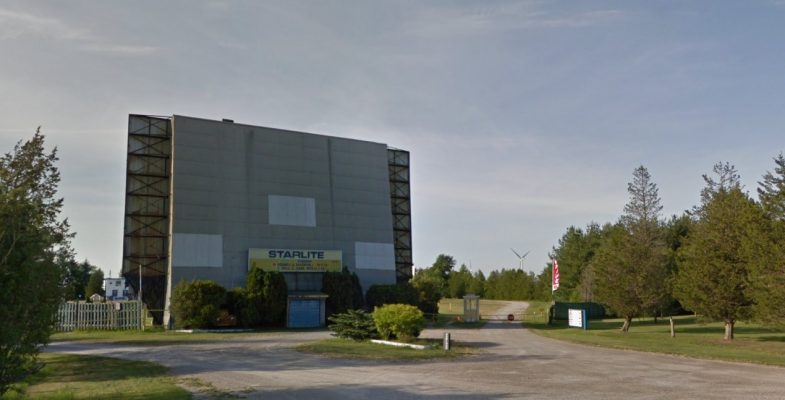 Starlite Drive-In in Grand Bend. June 2020. (Photo from Google Maps)