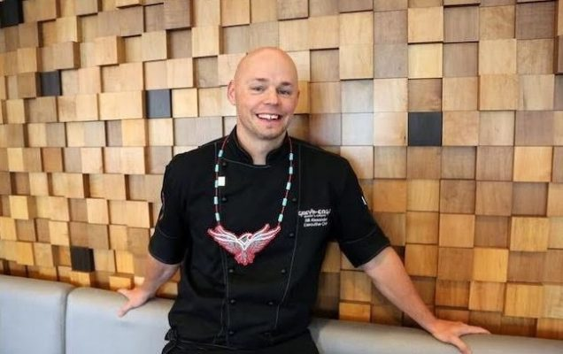Photo of Chef Bill Alexander courtesy of the Caldwell First Nation.