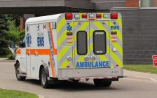 A Chatham-Kent EMS ambulance. (File photo by Matt Weverink)