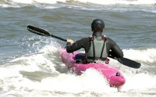 A kayaker on the water. File photo courtesy of © Can Stock Photo / caramaria.
