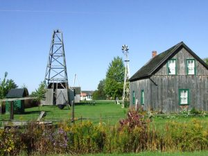 Oil Museum of Canada in Oil Springs. (Photo by Lambton County)