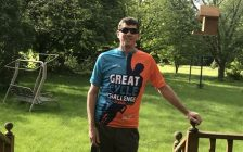 Mikey Poulin. (Photo courtesy of Great Cycle Challenge Canada.)