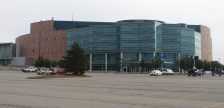 The Palace of Auburn Hills, former home of the NBA's Detroit Pistons, is seen in this 2015 photo. Photo courtesy Ken Lund/Wikipedia.