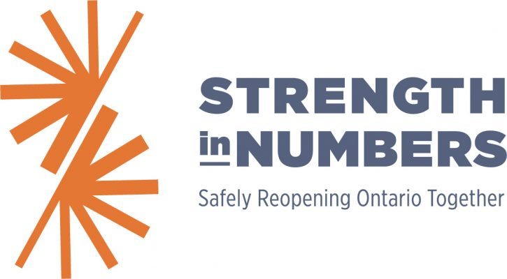 Strength in Numbers logo. Courtesy of Bruce Power.