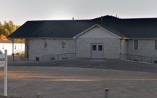 Photo of the Old Colony Mennonite Church in Aylmer, courtesy of Google Street View.