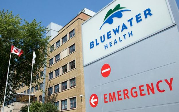 Bluewater Health hospital in Sarnia. June 2017. (Photo by BWH)