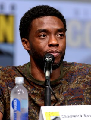Chadwick Boseman. Photo courtesy of Gage Skidmore via Wikipedia)