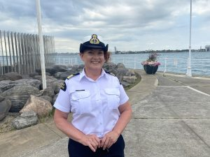 Sarnia Coast Guard Deputy Superintendent Kathleen Getty. August 14, 2020 Photo by Melanie Irwin