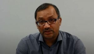 Medical Officer of Health for Windsor-Essex, Doctor Wajid Ahmed (Screen shot from YouTube.)