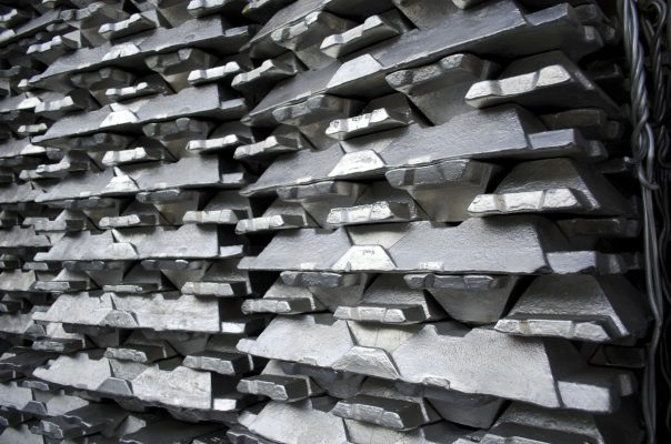 Raw aluminum ingots. © Can Stock Photo / razvanmatei